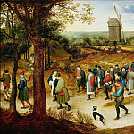 Jan Brueghel The Elder - Wedding procession