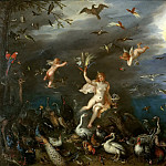 Jan Brueghel The Elder - Air