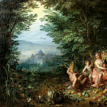 Earth, Jan Brueghel The Elder