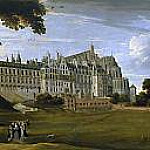 El Palacio Real de Bruselas , Jan Brueghel The Elder
