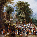 Flemish Fair, Jan Brueghel The Elder