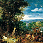 Garden of Eden, Jan Brueghel The Elder