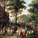 The Kermess, Jan Brueghel The Elder