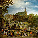Jan Brueghel The Elder - Village Fair