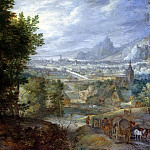 Jan Brueghel The Elder - Wooded Landscape