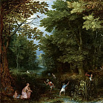 Jan Brueghel The Elder - Latona and the Lycian Peasants