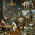 Jan Brueghel The Elder - La Vista y el Olfato