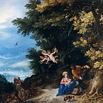 Jan Brueghel The Elder - Rest on the Flight into Egypt