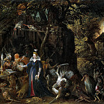 Jan Brueghel The Elder - The Temptation of Saint Anthony