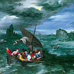 Christ in the Storm on the Sea of Galilee, Jan Brueghel The Elder