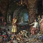 Prophecy of Isaiah, Jan Brueghel The Elder