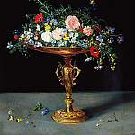 Jan Brueghel The Elder - Vase with Flowers