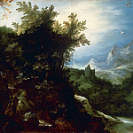 Jan Brueghel The Elder - Landscape with St. Jerome