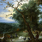 The Garden of Eden with the fall of man, Jan Brueghel The Elder