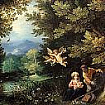 Rest on the Flight into Egypt, Jan Brueghel The Elder