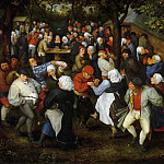 Jan Brueghel The Elder - Wedding Dance