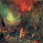Forge of Vulkan, Jan Brueghel The Elder