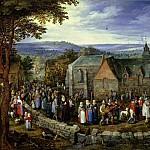 Jan Brueghel The Elder - Country Wedding