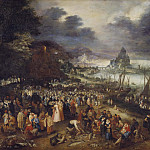 Jan Brueghel The Elder - Christ Preaching from the Boat