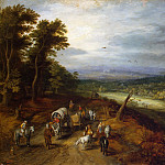 Country Road, Jan Brueghel The Elder