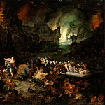 Jan Brueghel The Elder - Juno in the Underworld