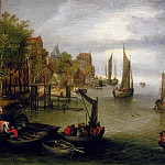 Jan Brueghel The Elder - Flanders spring on the Scheldt, near Antwerp