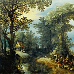 Jan Brueghel The Elder - Return from the Hunt