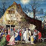 The Adoration of the Kings, Jan Brueghel The Elder