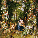 Jan Brueghel The Elder - The Holy Family