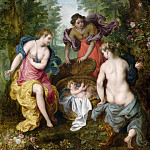 Jan Brueghel The Elder - The Finding of Moses