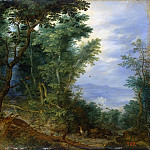 Jan Brueghel The Elder - Rest on the Flight to Egypt