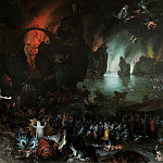 Jan Brueghel The Elder - Aeneas and Sibyl in the Underworld