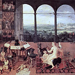 The Sense of Hearing, Jan Brueghel The Elder