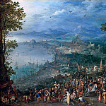 Jan Brueghel The Elder - The continence of Scipio