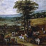 Jan Brueghel The Elder - La vida en el campo