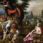 Jan Brueghel The Elder - The Marriage of the Thetis and Peleus