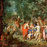 Jan Brueghel The Elder - Allegory of abundance