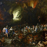 Aeneas and the Sibyl in the Underworld, Jan Brueghel The Elder