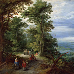 Jan Brueghel The Elder - Edge of the Forest (The Flight into Egypt)