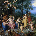 Spring, Jan Brueghel The Elder