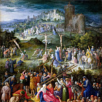Calvary, Jan Brueghel The Elder