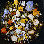 Jan Brueghel The Elder - Flowers in a vase