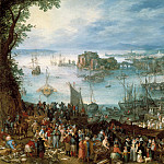 Jan Brueghel The Elder - Great Fish Market