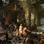 Fire, Jan Brueghel The Elder