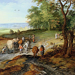 Jan Brueghel The Elder - Returning from the market