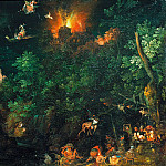 Jan Brueghel The Elder - The Temptation of St. Antony