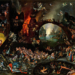 Christ in Limbo, Jan Brueghel The Elder