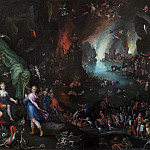 Jan Brueghel The Elder - Orpheus Sings for Pluto and Proserpina