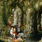 Feast of the Nymph Calypso for Odysseus, Jan Brueghel The Elder