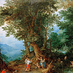 Jan Brueghel The Elder - Latona and the Lycian Farmers